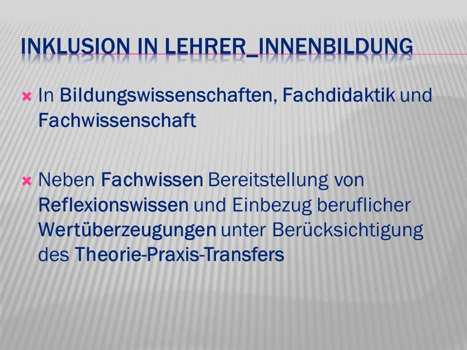 Inklusion in Lehrer_innenBildung