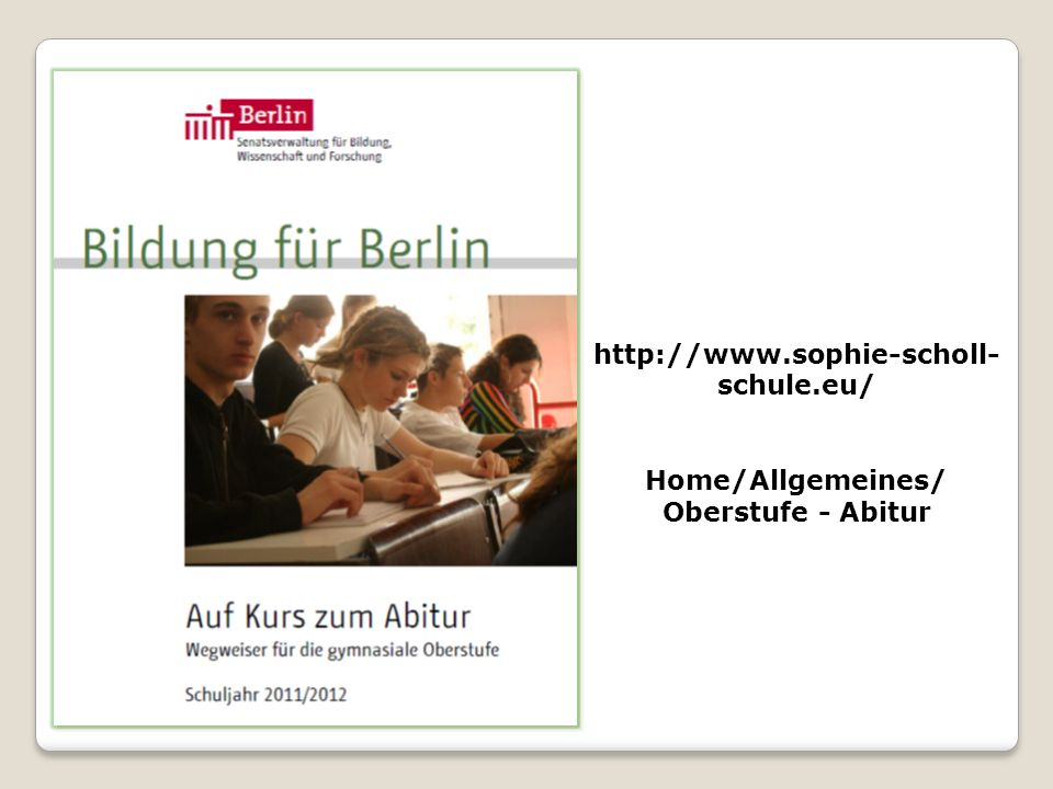 Home/Allgemeines/ Oberstufe - Abitur