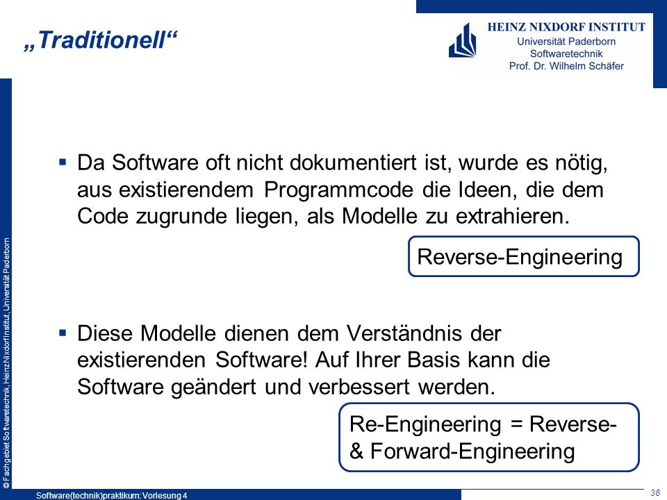 Softwaretechnikpraktikum SS 2008: Vorlesung 3