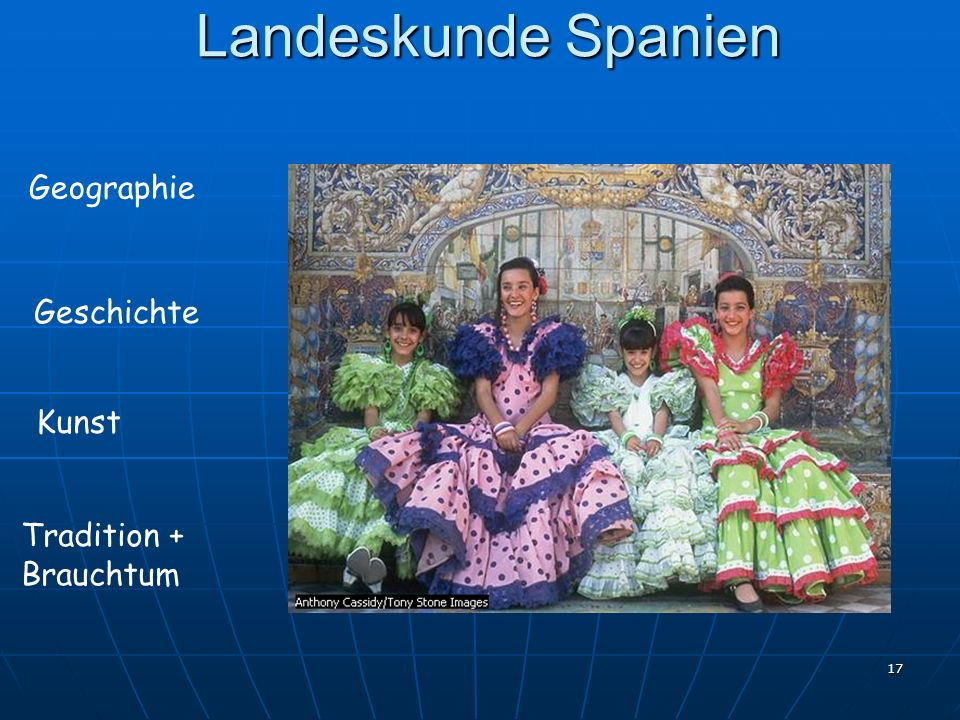 Landeskunde Spanien Geographie Geschichte Kunst Tradition + Brauchtum