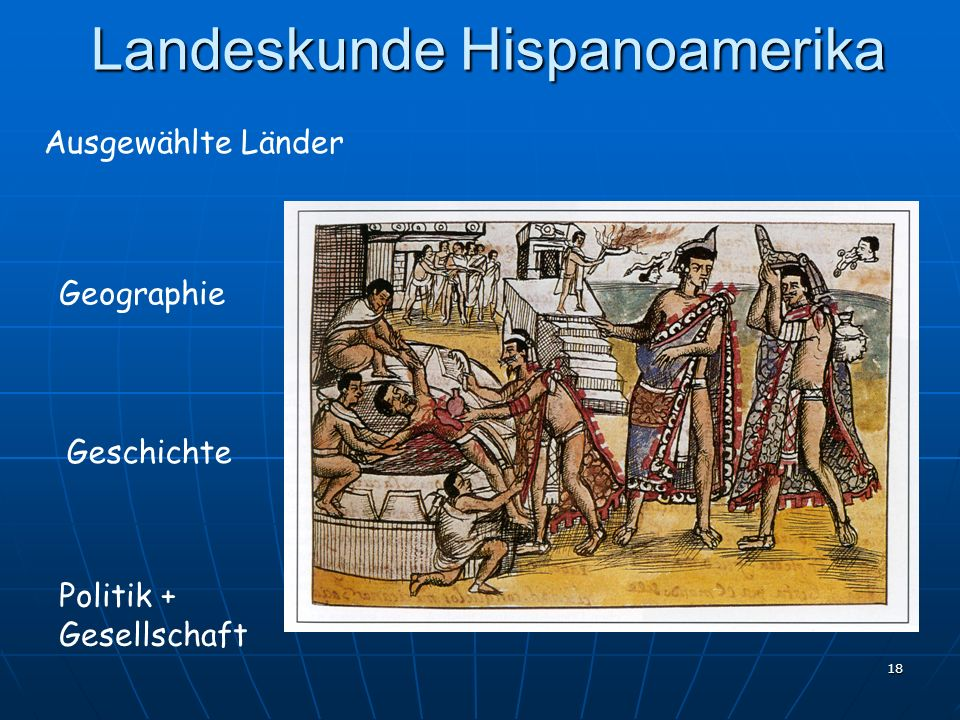 Landeskunde Hispanoamerika