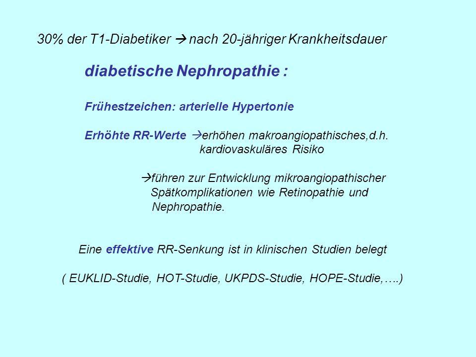 diabetische Nephropathie :