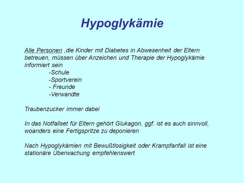 Hypoglykämie