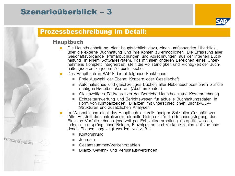 Szenarioüberblick – 3 Prozessbeschreibung im Detail: Hauptbuch