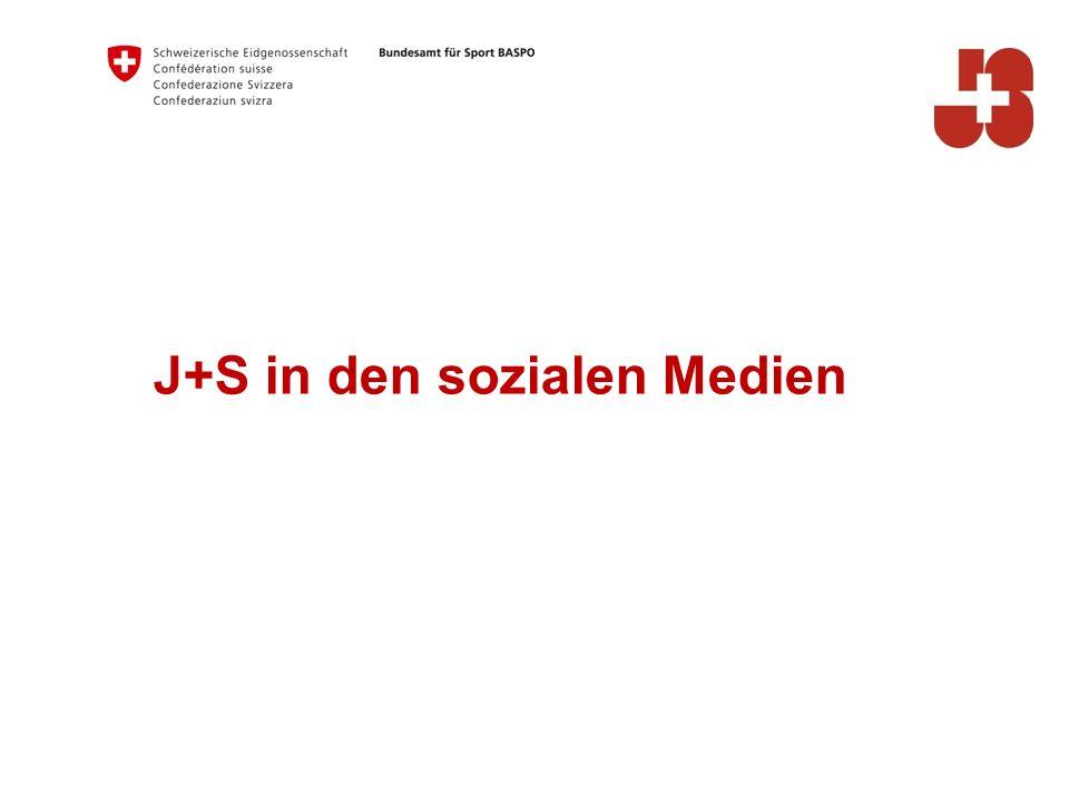 J+S in den sozialen Medien