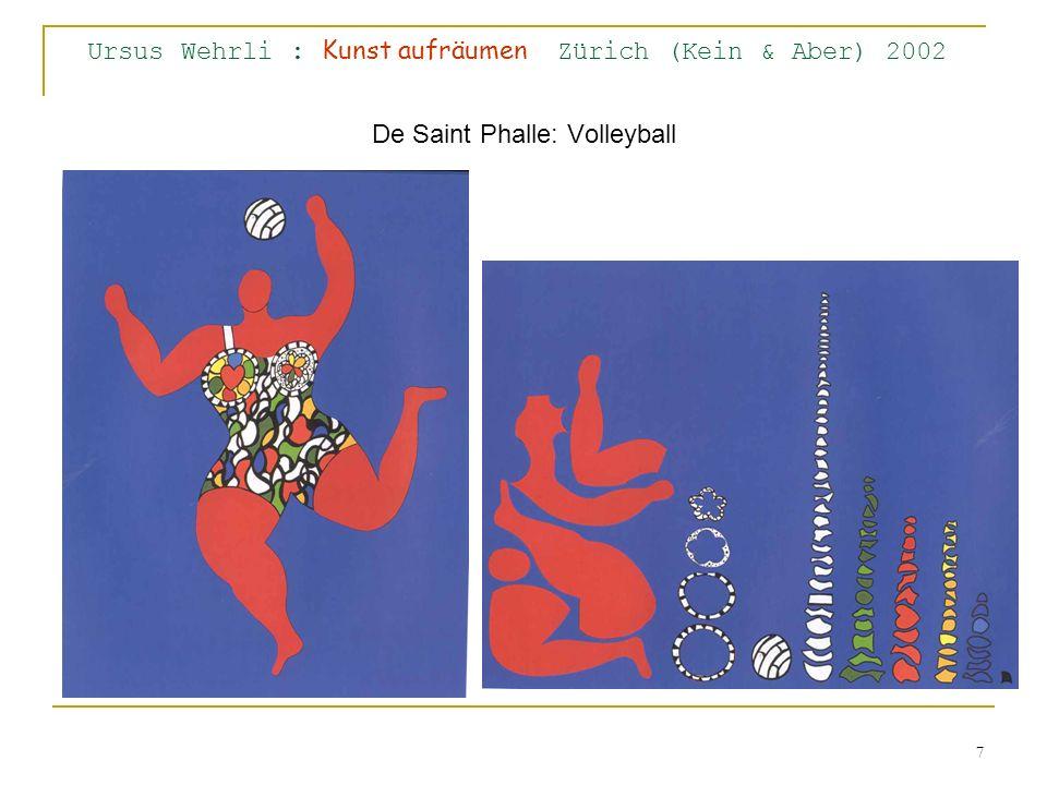 Ursus Wehrli : Kunst aufräumen Zürich (Kein & Aber) 2002