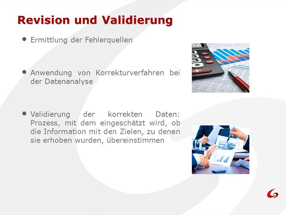 Revision und Validierung
