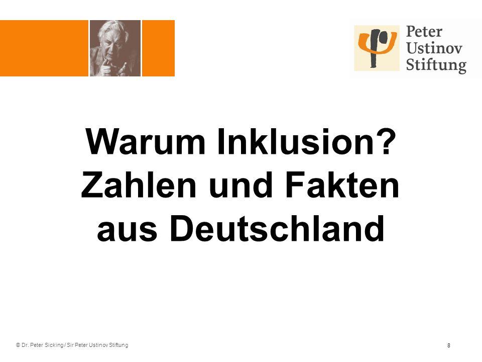 Warum Inklusion Zahlen und Fakten aus Deutschland