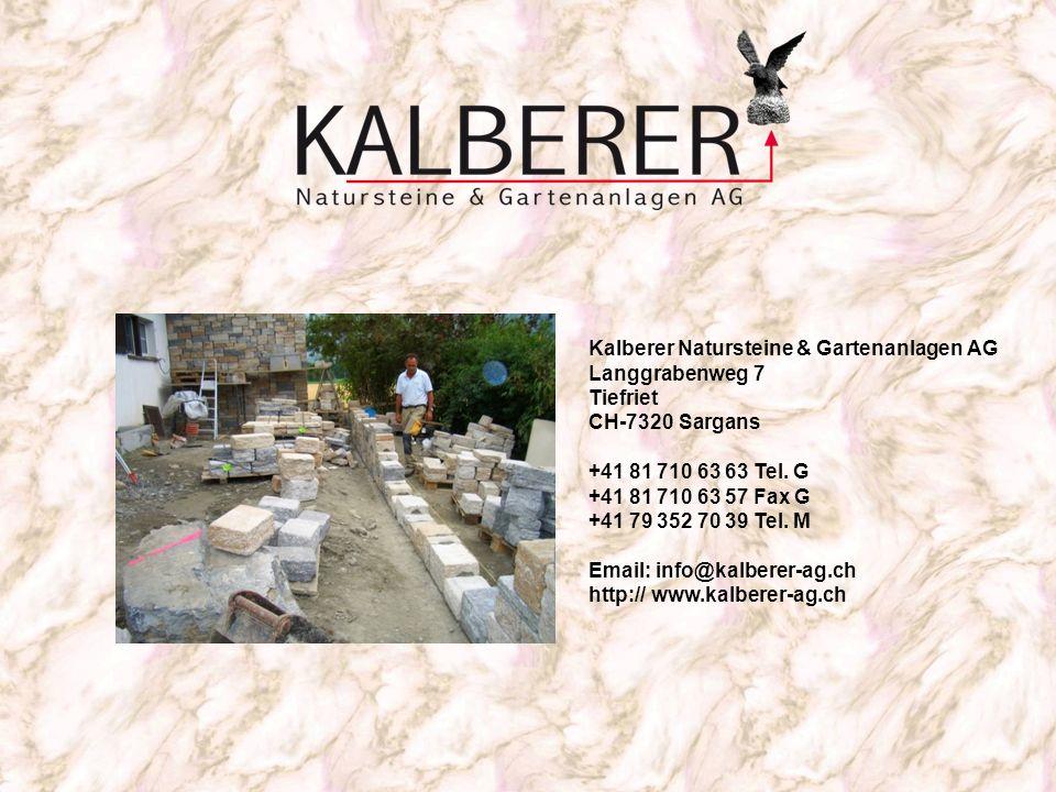 Kalberer Natursteine & Gartenanlagen AG