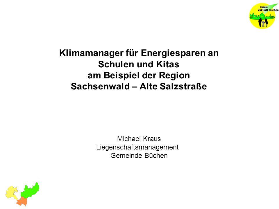 Michael Kraus Liegenschaftsmanagement Gemeinde Büchen