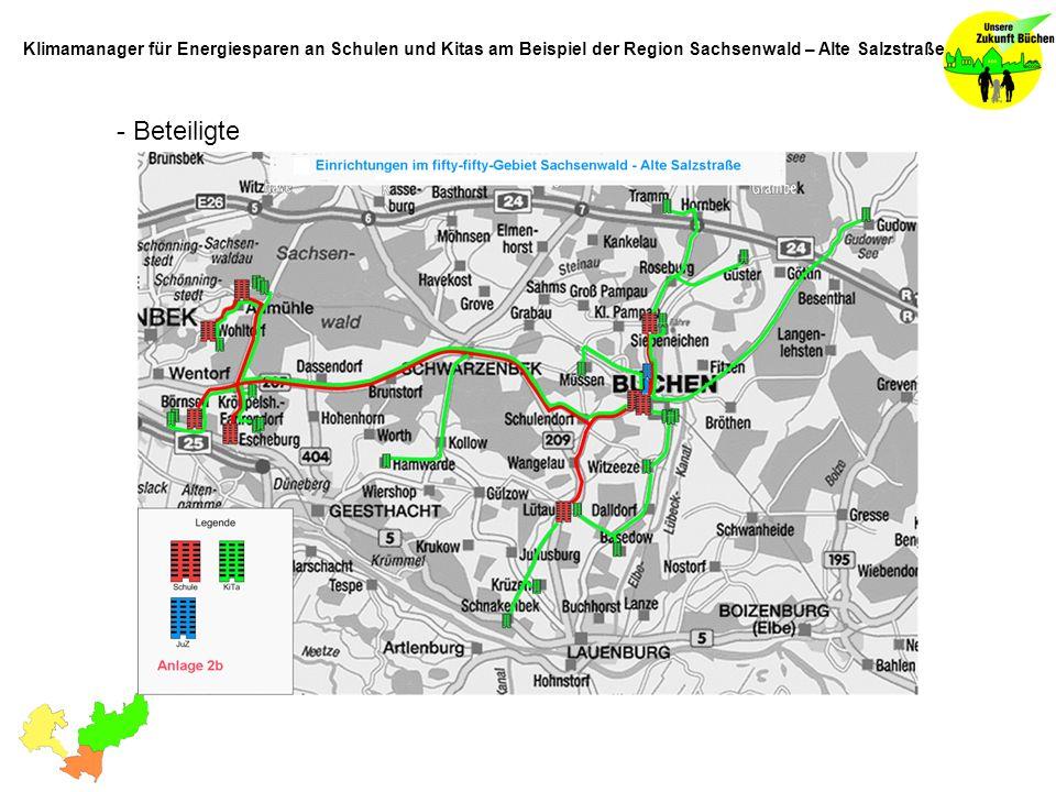 Klimamanager für Energiesparen an Schulen und Kitas am Beispiel der Region Sachsenwald – Alte Salzstraße