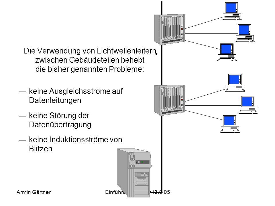 keine Ausgleichsströme auf Datenleitungen