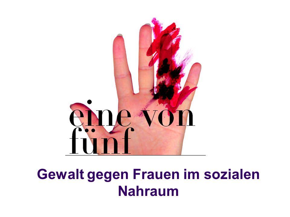 Gewalt gegen Frauen im sozialen Nahraum