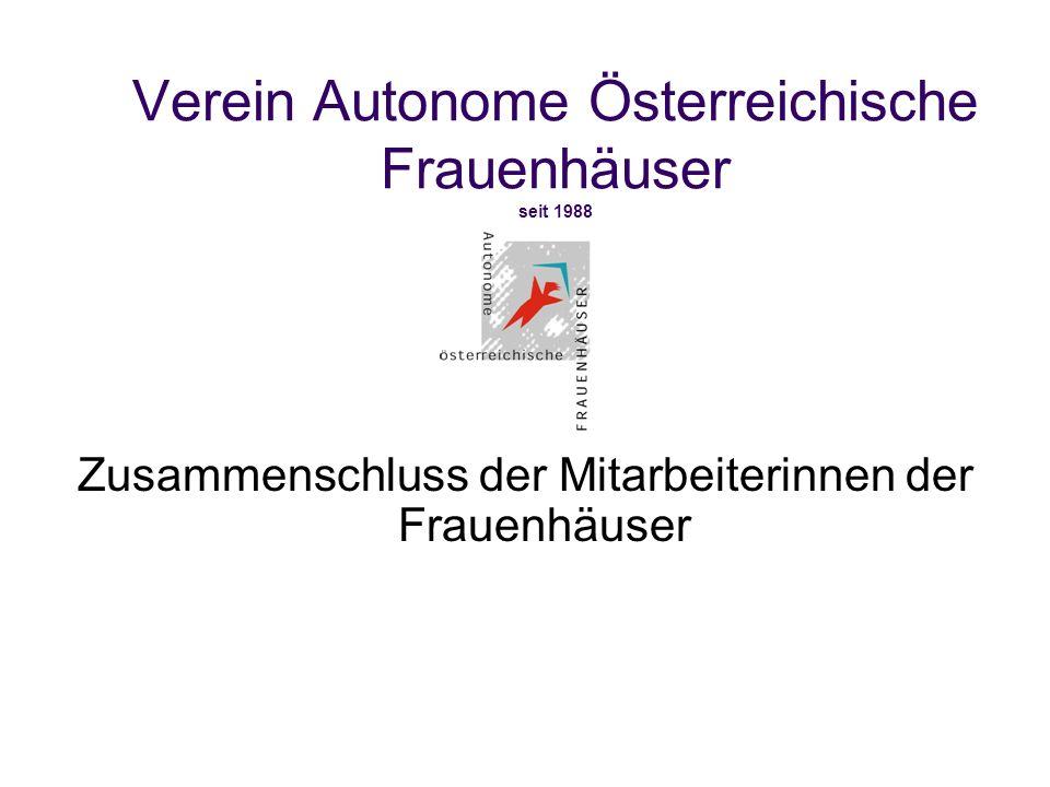 Verein Autonome Österreichische Frauenhäuser seit 1988