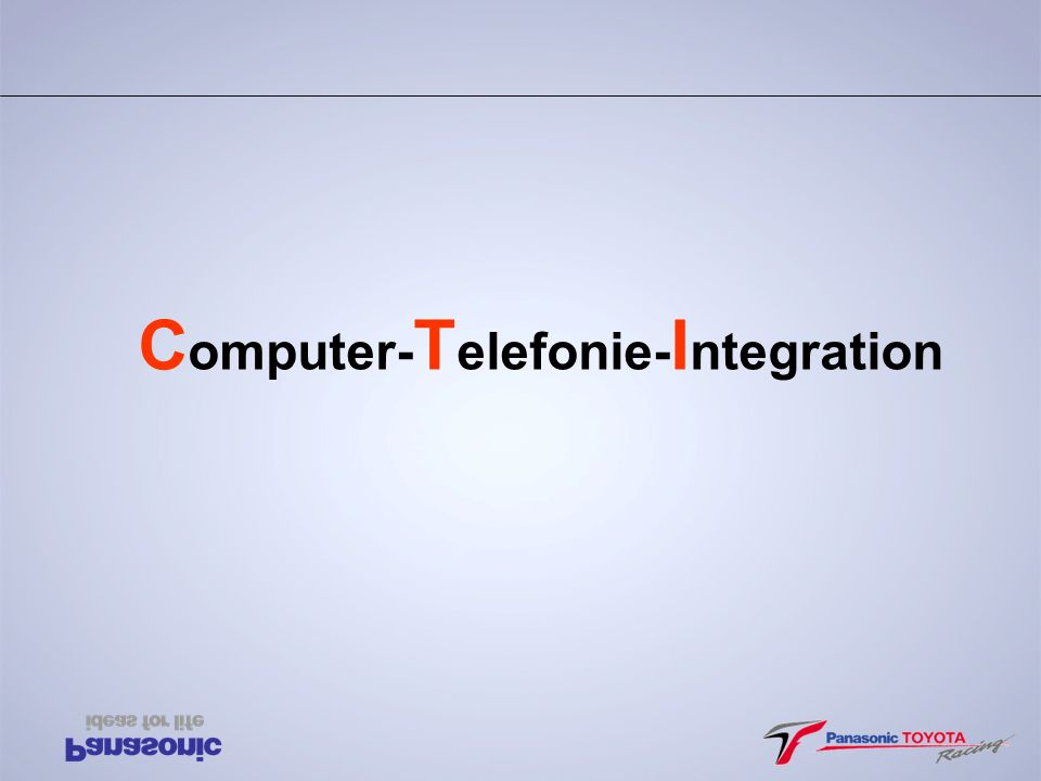 Computer-Telefonie-Integration