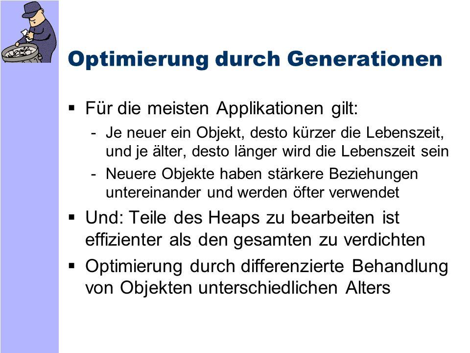 Optimierung durch Generationen