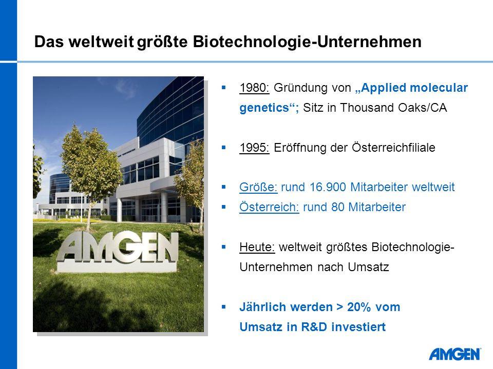 Das weltweit größte Biotechnologie-Unternehmen
