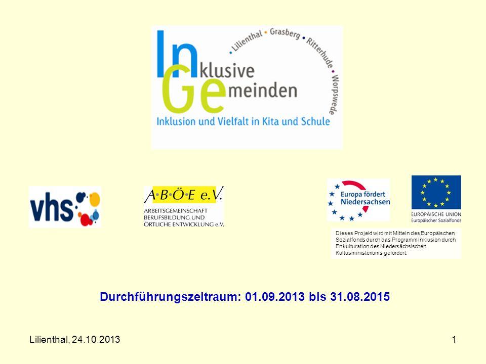 Durchführungszeitraum: 01.09.2013 bis 31.08.2015