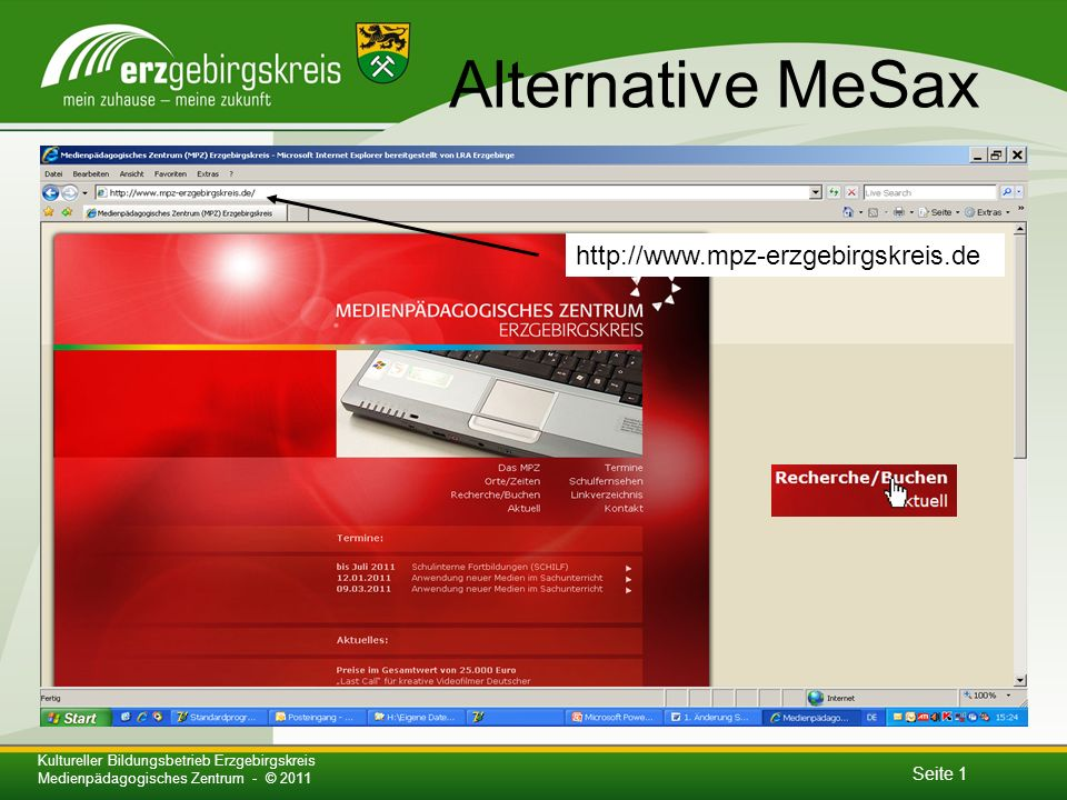 Alternative MeSax http://www.mpz-erzgebirgskreis.de