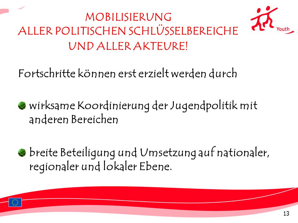 MOBILISIERUNG ALLER POLITISCHEN SCHLÜSSELBEREICHE UND ALLER AKTEURE!