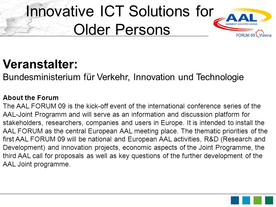 Innovative ICT Solutions for
