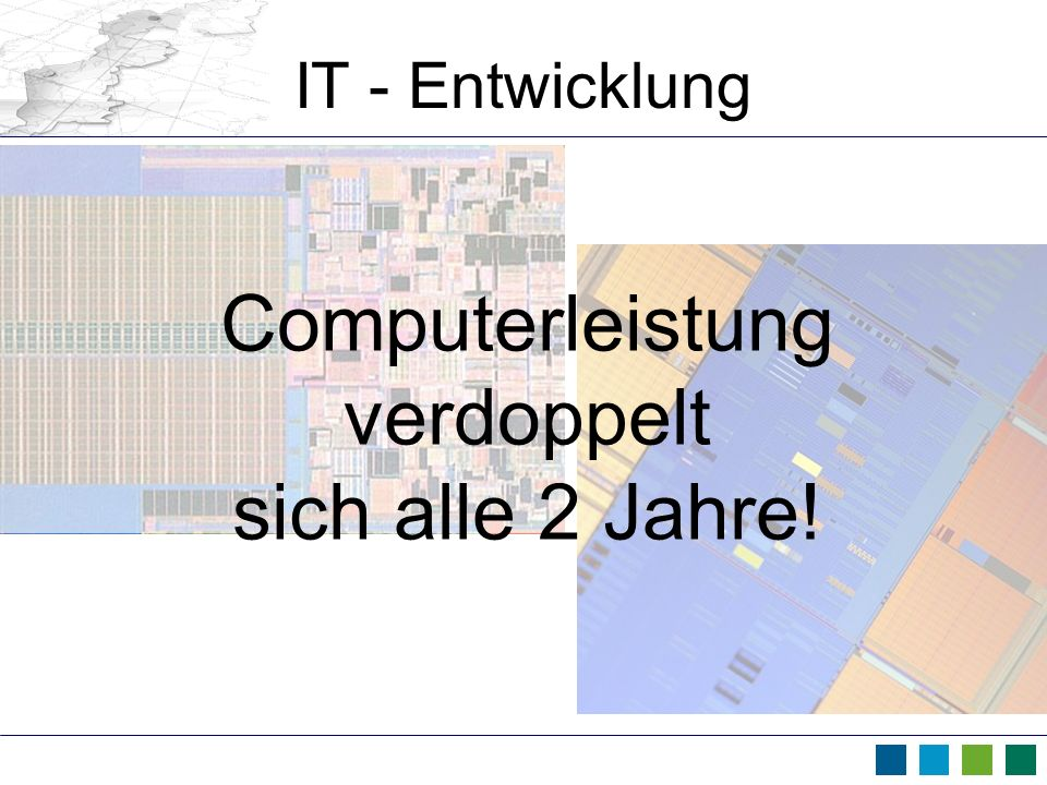 Computerleistung verdoppelt