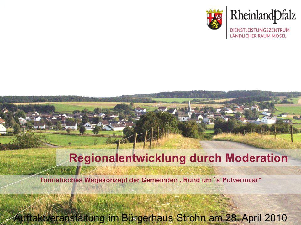 Regionalentwicklung durch Moderation