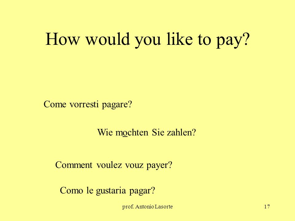 How would you like to pay