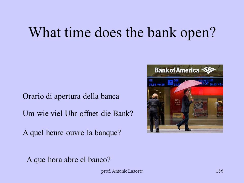 What time does the bank open