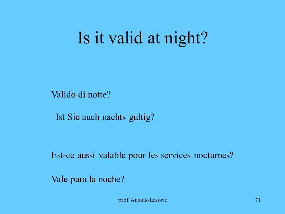 Is it valid at night Valido di notte Ist Sie auch nachts gultig