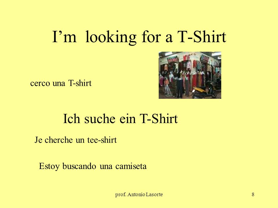I'm looking for a T-Shirt