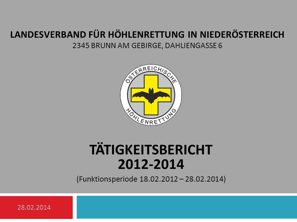 Landesverband für Höhlenrettung in Niederösterreich 2345 Brunn am Gebirge, Dahliengasse 6