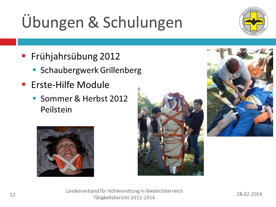Landesverband für Höhlenrettung in Niederösterreich