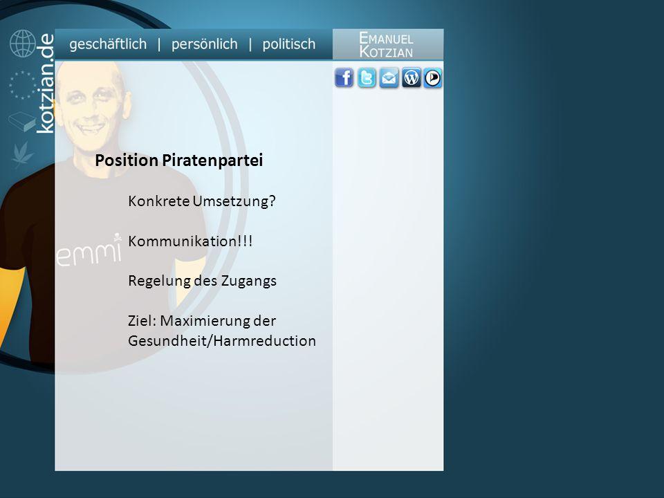 Position Piratenpartei