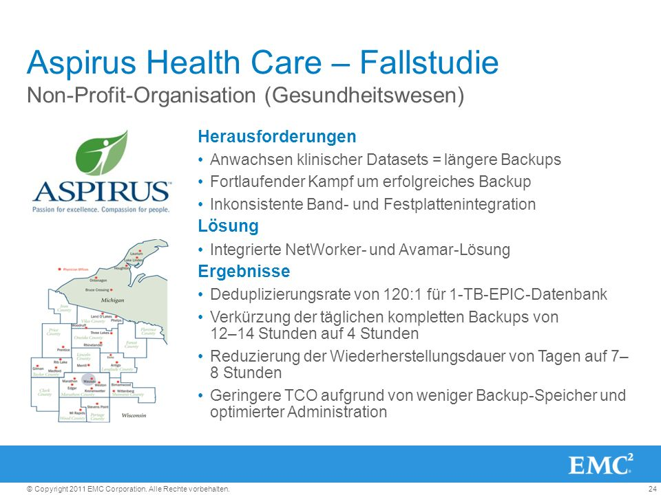 Aspirus Health Care – Fallstudie