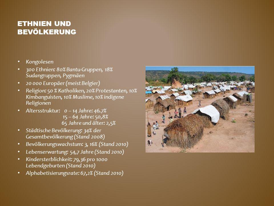 Ethnien und Bevölkerung