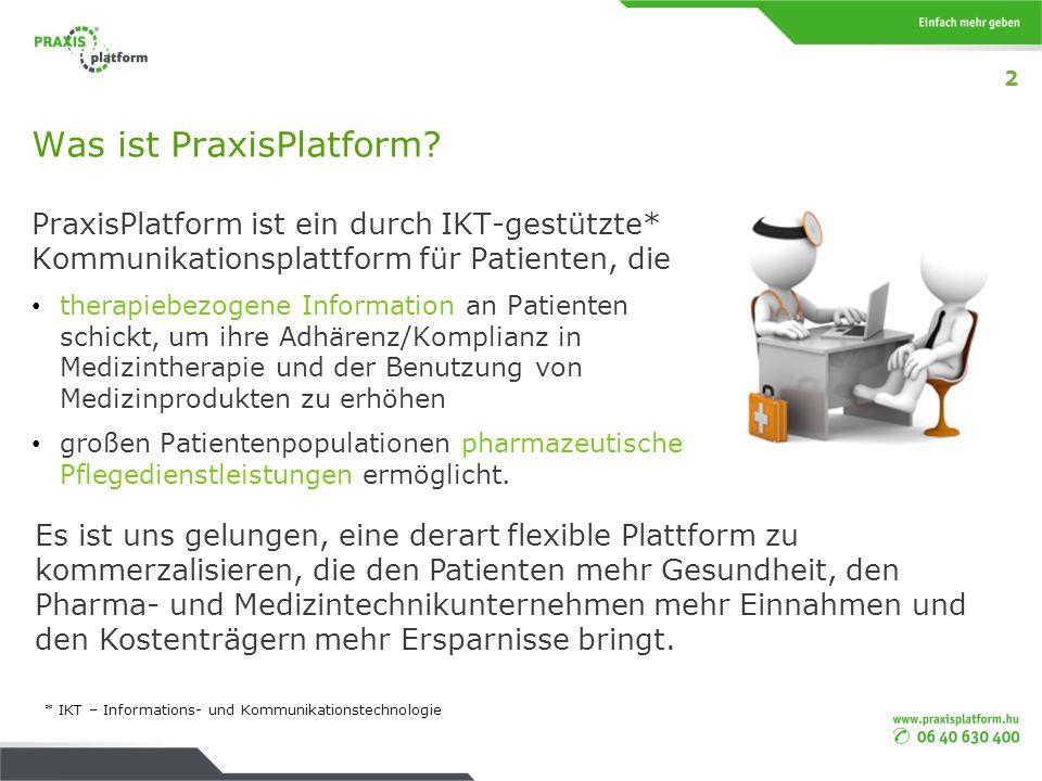 Was ist PraxisPlatform