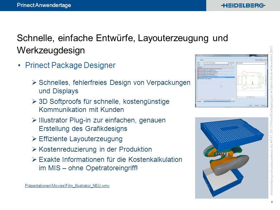 Schnelle, einfache Entwürfe, Layouterzeugung und Werkzeugdesign