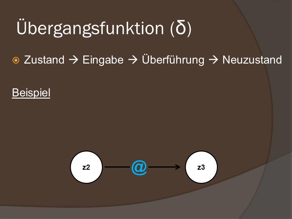 Übergangsfunktion (δ)