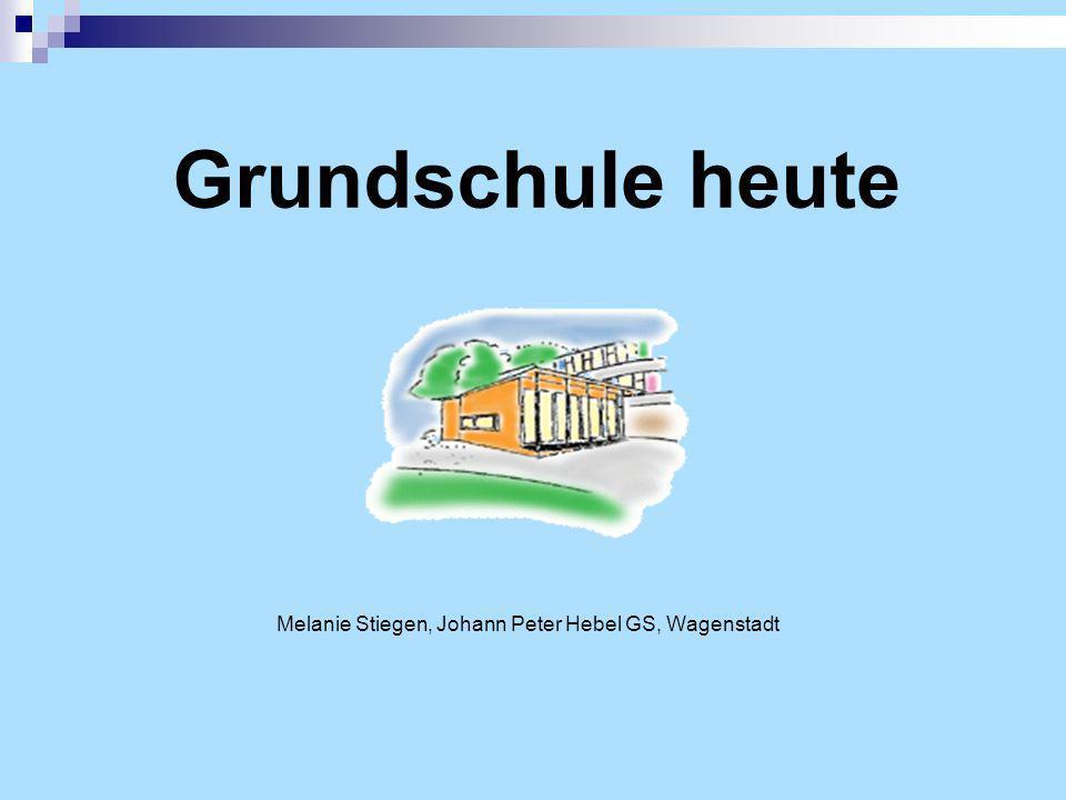 Melanie Stiegen, Johann Peter Hebel GS, Wagenstadt