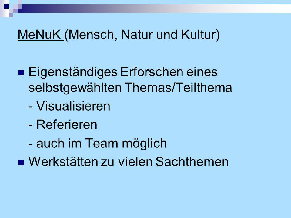 MeNuK (Mensch, Natur und Kultur)