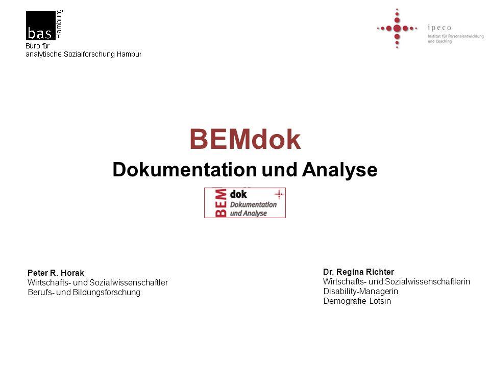 Dokumentation und Analyse