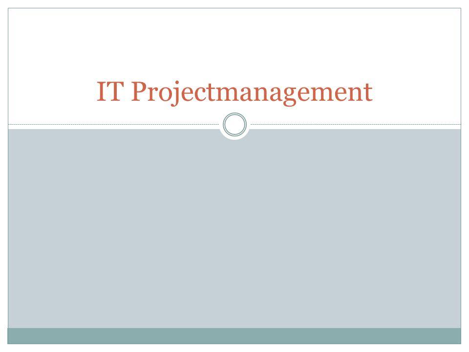 IT Projectmanagement