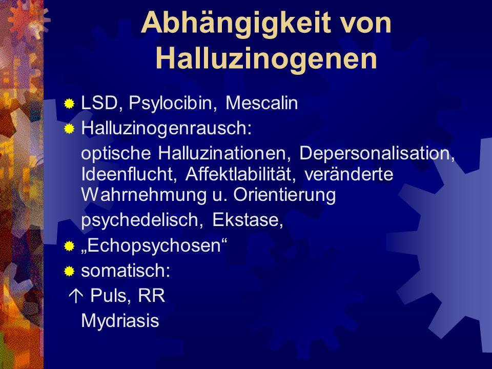 Abhängigkeit von Halluzinogenen