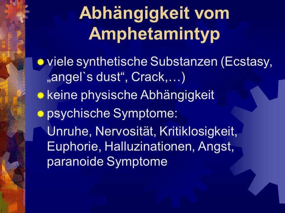 Abhängigkeit vom Amphetamintyp