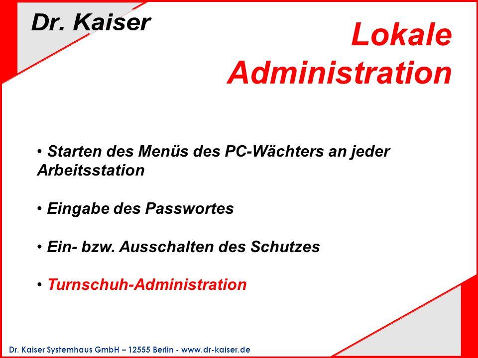 Lokale Administration