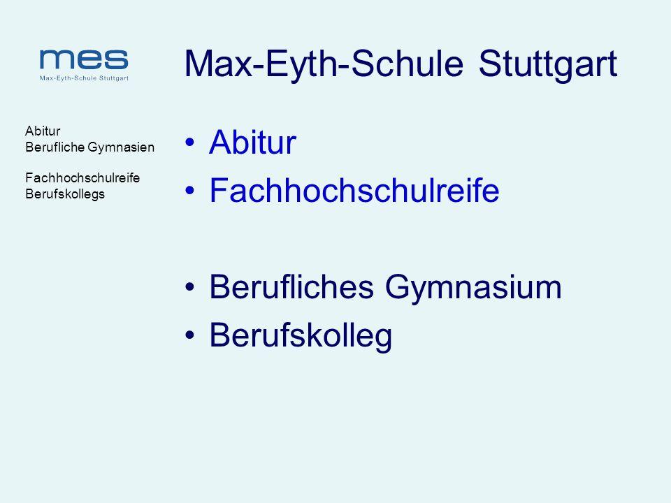 Max-Eyth-Schule Stuttgart