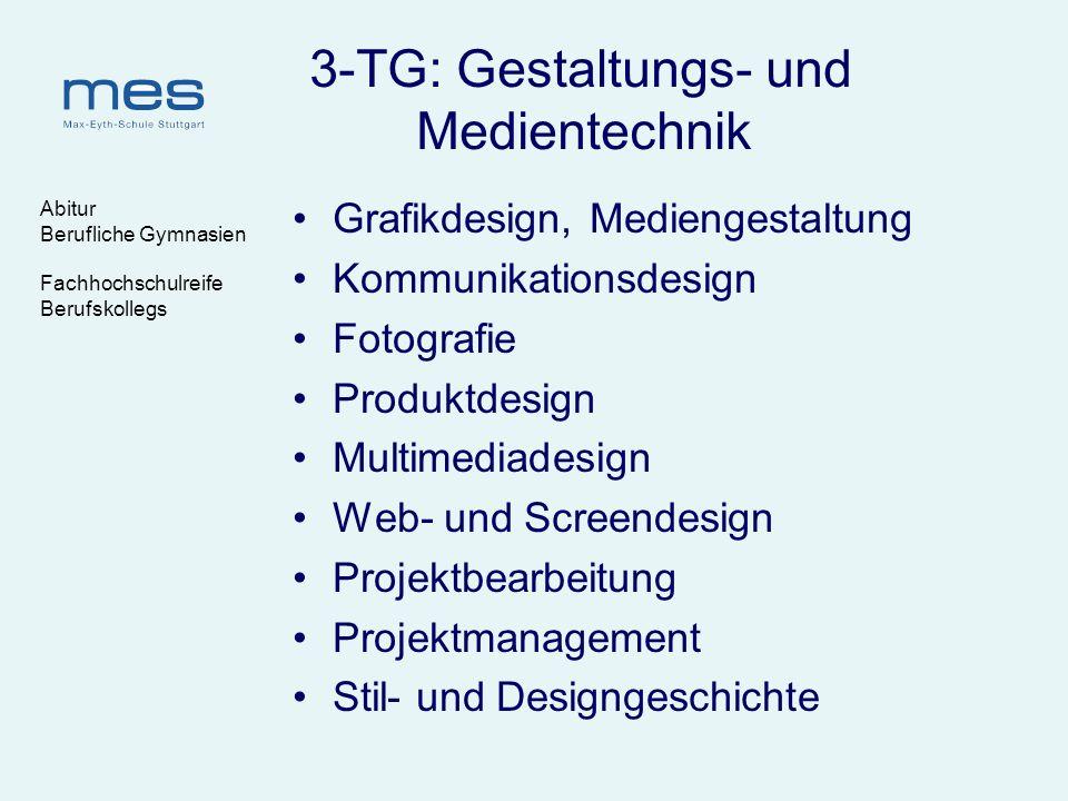 3-TG: Gestaltungs- und Medientechnik