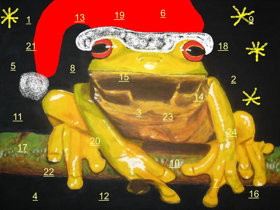 6 19 13 1 9 21 18 5 8 15 2 14 3 11 23 24 20 17 10 22 7 16 4 12