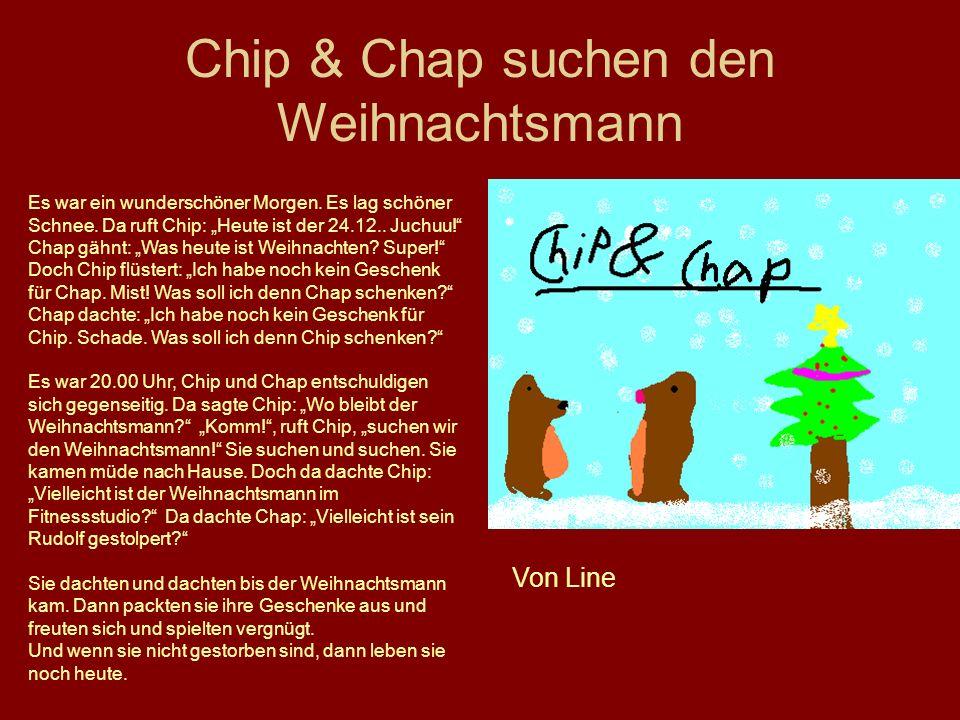 Chip & Chap suchen den Weihnachtsmann